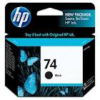 HP No 74 CB335WA Black Ink Cartridge