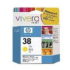 HP No 38 C9417A Yellow Ink Cartridge