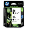 HP No 56 CC620AA Black Ink TWIN PACK